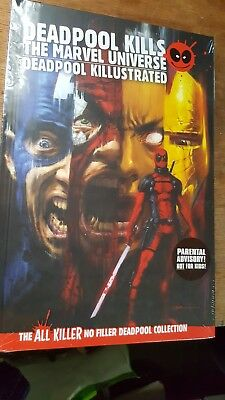 Deadpool Kills the Marvel Universe #1-4 and Deadpool: Classics Killustrated #1-4