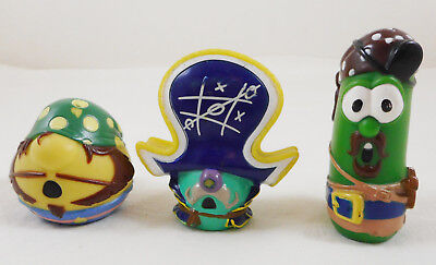 Veggie Tales Pirate Ship Replacement Figures Pa Grape Mr Lunt Larry