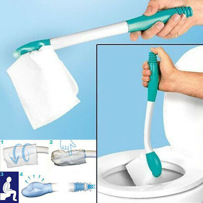 Bottom Bum Wiper Toilet Incontinence Aid Obese Elderly Disability Mobility New D