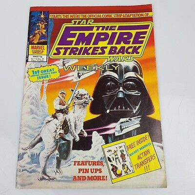 STAR WARS The Empire Strikes Back Weekly Comic May 1980 #118 FIRST ISSUE Marvel