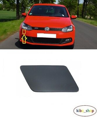 9N 2005-2009 NEW FRONT BUMPER MOLDING TRIM BLACK RIGHT O//S FOR VW POLO