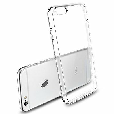 "Coque Transparent Ultra Mince Tpu Flexible Pour Iphone 6 Plus 5.5"" + Film"