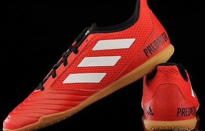 ADIDAS PREDATOR TANGO 18.4 Sala Red Small Fitting Indoor Football Trainers