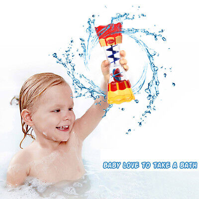 Chic Baby Toddler Bath Toy Kids Bathing Swim Water Whirly Wand Cup Pool Toy