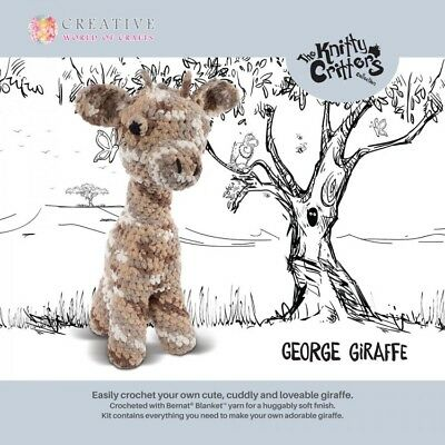 Knitty Critters ~ George the Giraffe ~ Crochet Kit ~ Super Tall ~ 50cm ~ KC509