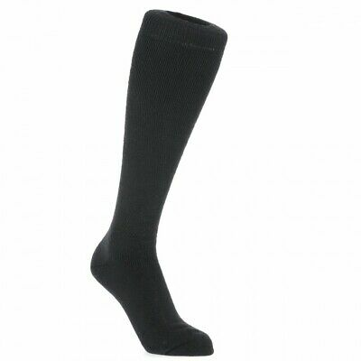 Trespass Tech Luxury Merino Wool Blend Ski Tube Socks Black