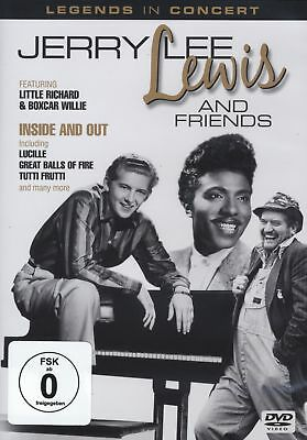 Lewis Jerry Lee & Friends - Inside Out [DVD]
