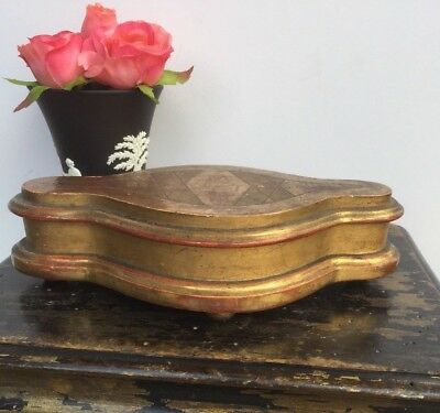 Antique French Gilt Wood Stand Plinth Architectural Salvage Fragment
