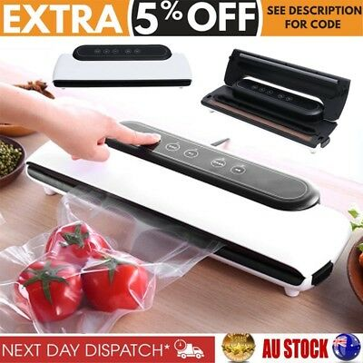 5-Star Chef Automatic Vacuum Sealing Sealer Machine Food Storage Packaging Kit