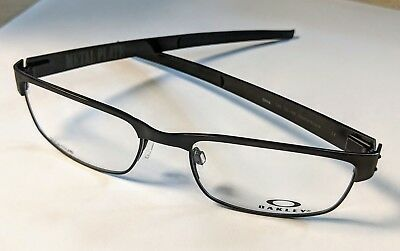 fd8063b16ae Oakley Metal Plate OX5038 22-198 Eyeglasses Titanium Matte Black 53mm  NEW