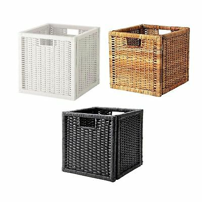 Boxes - Baskets Dimensioned To Fit Shelving Unit USE FOR NEWSPAPER , MAGAZINE