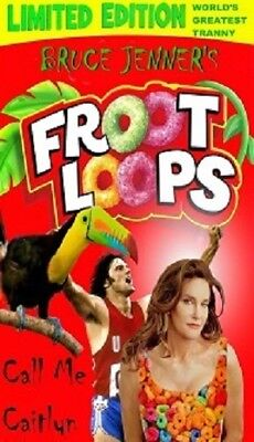 Foot Loops Bruce Jenner Spoof Cereal Magnet