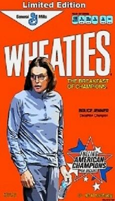 Wheaties Bruce Jenner Spoof Cereal Magnet