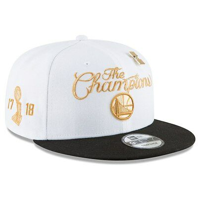 6f400fd906142 ... uk nba finals champions locker room snapback hat. picclick exclusive  mens golden state warriors new
