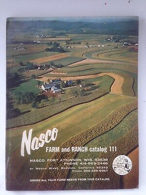 Vintage NASCO Farm and Ranch Catalog 111