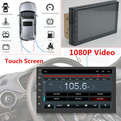 """Universal Car GPS Bluetooth Stereo Radio FM MP3 MP5 Player Android 8.0 7"""" 2 DIN"""