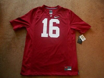 Authentic Nike 16 Alabama Crimson Tide STITCH Football Game Jersey Men Large  NEW 8c40c95f1