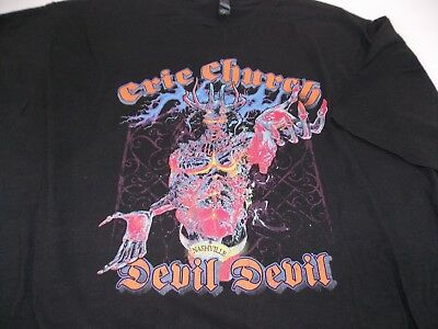 Eric Church The Outsiders World Tour Nashville Then Go Straight to Hell 2XL