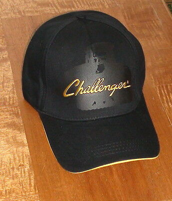 Challenger Tractor Shadow Black Cap With Logo New