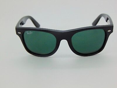 580c0ab214415 New Ray Ban Jr. Wayfarer RJ 9035S 100 11 Shiny Black Kids 44mm Sunglasses