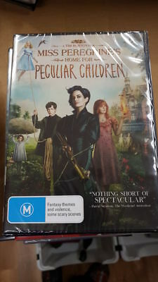 Miss Peregrines Home for Peculiar Children DVD Region 4 NEW