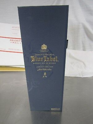 Johnnie Walker Blue Lable Box And Bottle 750 ml