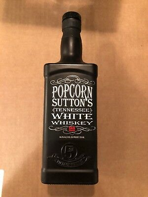 Popcorn Sutton Limited Edition Empty Bottle Collectible w/ Tag Discontinued