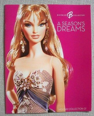 The Barbie Collector Howl-iday 2011 Catalog