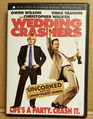 Wedding Crashers Dvd Featuring Owen Wilson Vince Vaughn Christopher Walken