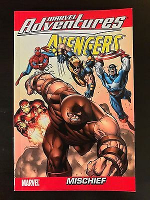 Marvel Adventures The Avengers Vol 2 Mischief TPB TP Marvel paperback softcover