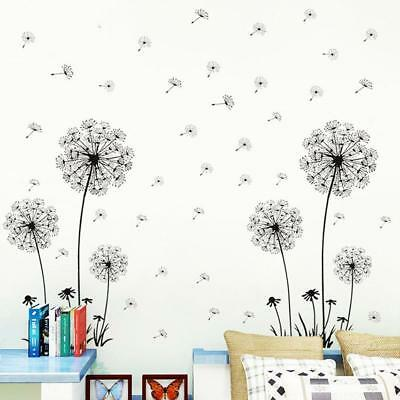 Dandelion Flowers 3d Wall Stickers Art Mural Decal Home Living Room