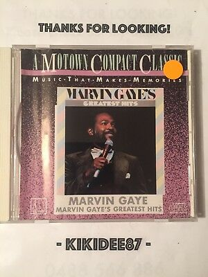 Marvin Gaye Greatest Hits CD **Excellent Condition**