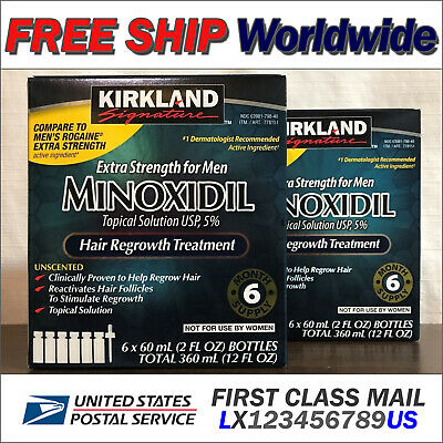 Kirkland Minoxidil (EXP 11/2020) 5% Men Hair Regrowth 12 Month (2 Box) Signature
