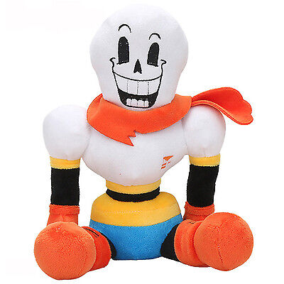 "Undertale San Plush Stuffed Doll 12""Toy Papryus Toy Cushion Pillow Cosplay Gift"