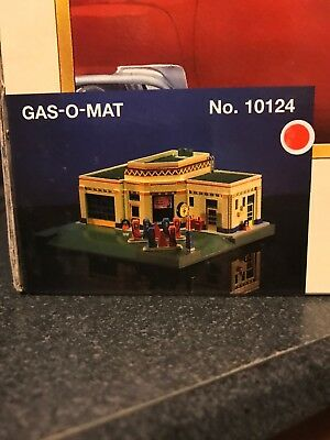 Lefton's 1995 Gas-O-Mat Gas Station - Roadside Usa Collection - #10124 Nib