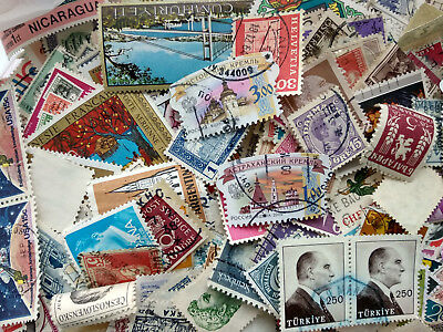 500 different stamps worldwide