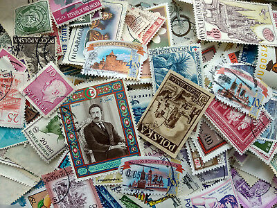1000 different stamps worldwide