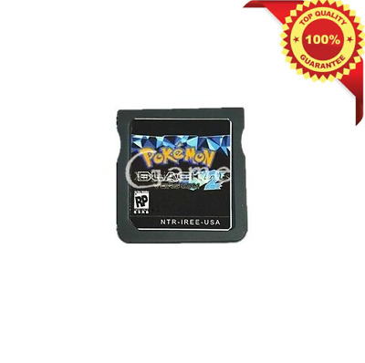 Pokemon: Black Version 2 DS 3DS English Console Video Game Play Now !