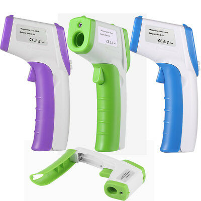 LCD Digital Non-contact Body Skin Infrared IR Thermometer Meter For Kids Adults