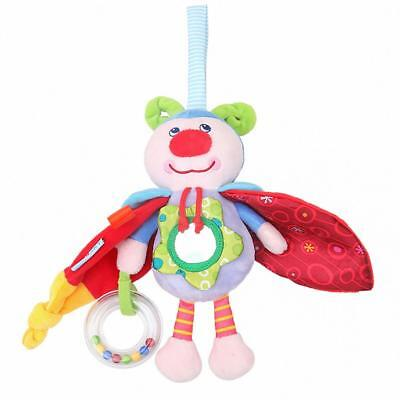Lovely Baby Crib Insect Hanging Rattles Educational Doll Toys For Children T