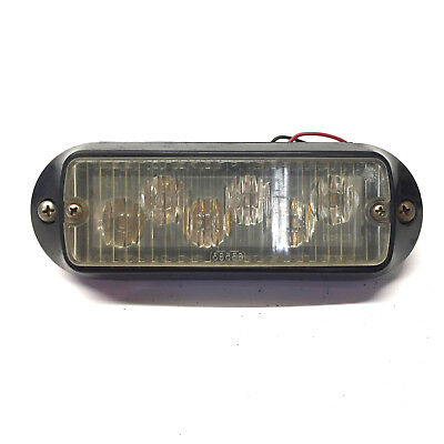 Whelen Smart LED 500 Series Amber Warning Light 01-0263763-14D