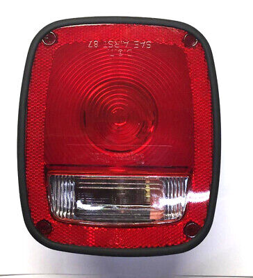 Truck-Lite 3-Stud Poly-Combo Housing Incandescent Stop/Tail Light 5013 NOS