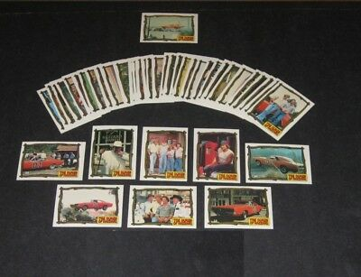 Dukes Of Hazzard - Series 3 - Complete Trading Card Set (44) - Donruss 1981 - NM