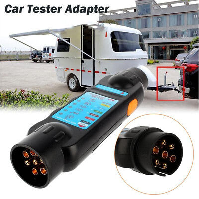 Circuit  Socket  Car Adapter Diagnostic Cable Towing Lights  Trailer Tester