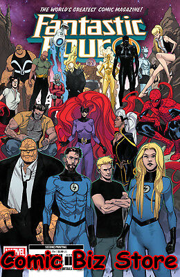 Fantastic Four #2 (2018) 2Nd Printing Pitchelli Variant Cover Marvel Comics