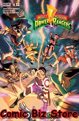 Mighty Morphin Power Rangers #32 (2018) 1St Printing Cover A Boom Studios