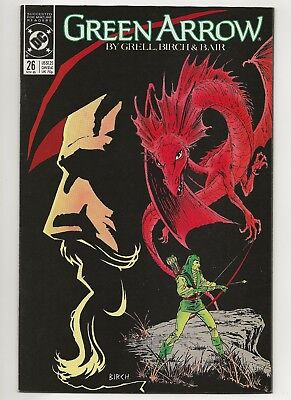 Green Arrow #26  NM  (1987 1st Series)  DC   *Free Shipping*