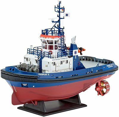 Revell 05213 Fairplay I,III,X Hafen Zerren Plastik Kit 1/144 Maßstab - T48 Post