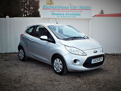 2013 13 Ford Ka 1.2 69ps Edge 3 door hatch, Only £30 tax, One Owner from new