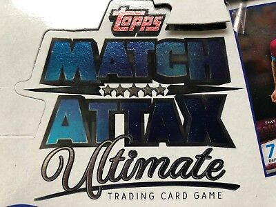 Topps Match Attax Ultimate 2018/19- Base Sets Buy 3 Get 1 Free